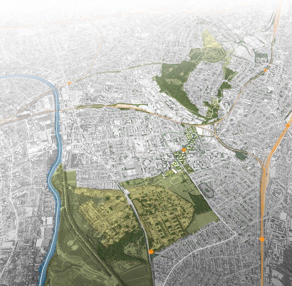 Les liaisons naturelles, supports d'une urbanité redéfinie