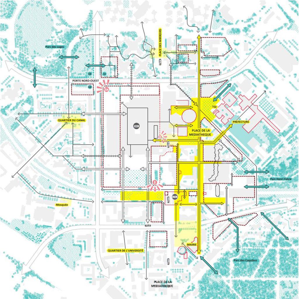 evry centralité stratégie plan-guide espace public
